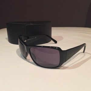 Authentic Prada Sunglasses - Black